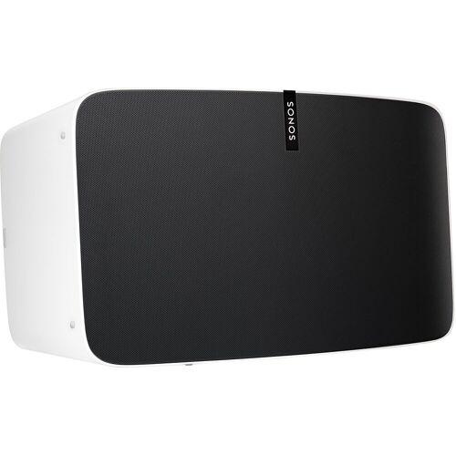 Sonos Play: 5 Multiroom-Lautsprecher (WLAN (WiFi), WLAN-Speaker für Musikstreaming), weiß