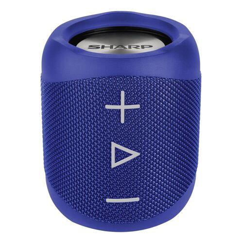 Sharp GX-BT180 Kabelloser Lautsprecher Bluetooth-Lautsprecher (14 W), Blau