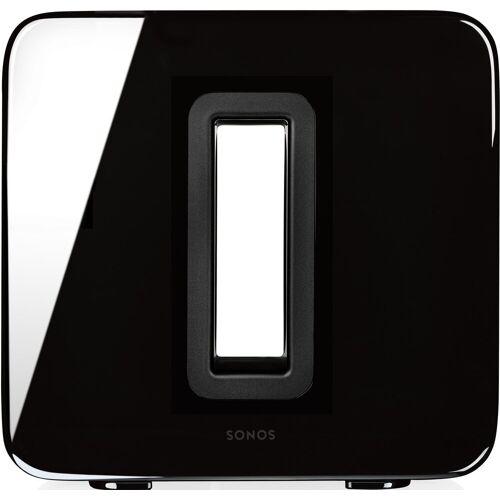 Sonos Sub WLAN - Subwoofer (WLAN (WiFi), LAN (Ethernet), für Speaker), schwarz
