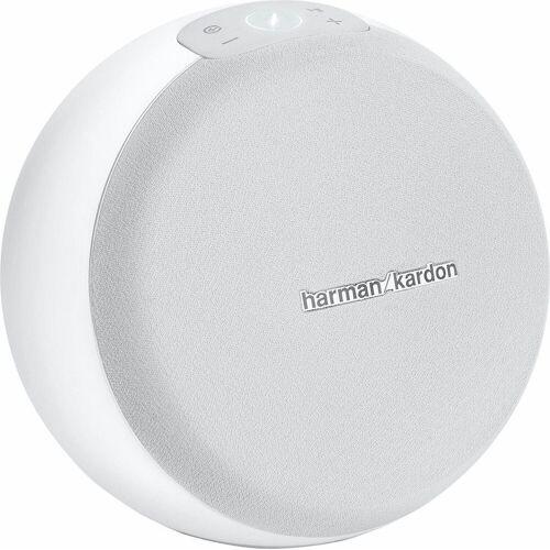 Harman/Kardon Omni 10+ Portable-Lautsprecher (50 W, Multiroom, WiFi, Spotify), weiß
