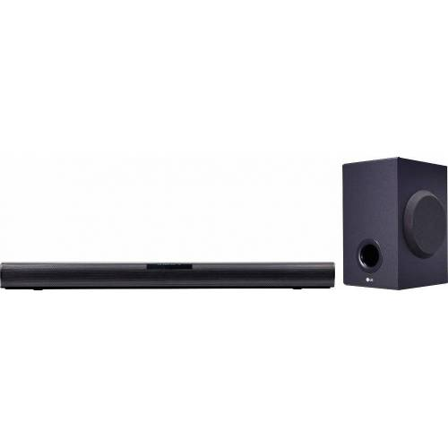 LG SJ2 2.1 Soundbar (Bluetooth, 160 W, Videoformat: WMA, Dolby Digital)