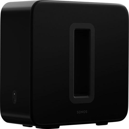 Sonos Sub (Gen3) WLAN- Subwoofer (LAN (Ethernet), WLAN), Glänzendes Schwarz