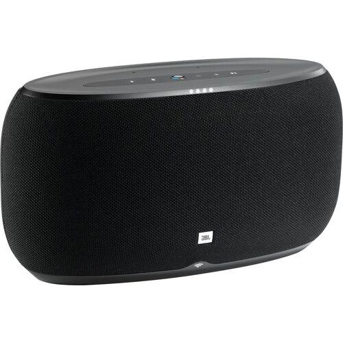 JBL Link 500 Stereo Multiroom-Lautsprecher (Bluetooth, WLAN (WiFi), 60 W), schwarz