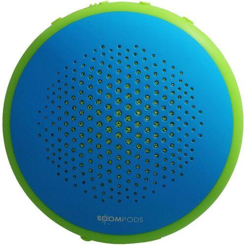Boompods Lautsprecher »wasserdichter dual Pairing Lautsprecher Fusion«, Blau-Grün