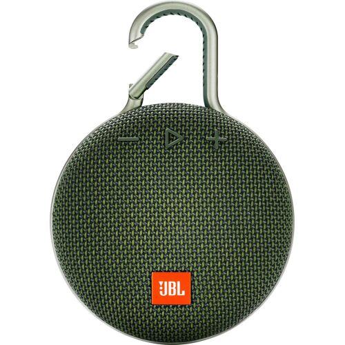 JBL CLIP 3 Portable-Lautsprecher (Bluetooth, 3 W), grün