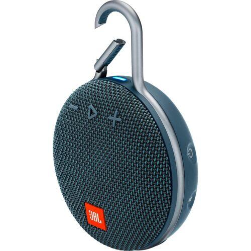 JBL CLIP 3 Portable-Lautsprecher (Bluetooth, 3 W), blau