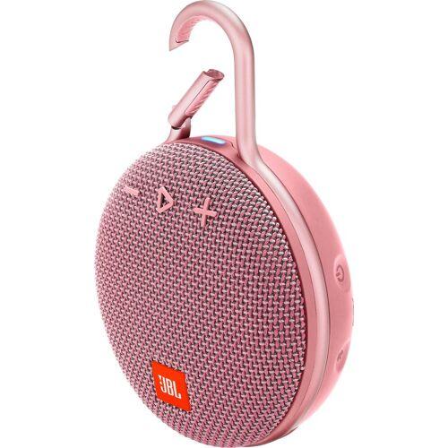 JBL CLIP 3 Portable-Lautsprecher (Bluetooth, 3 W), rosa