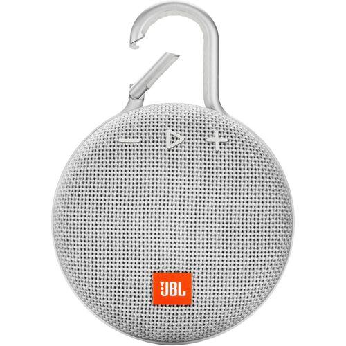 JBL CLIP 3 Portable-Lautsprecher (Bluetooth, 3 W), weiß