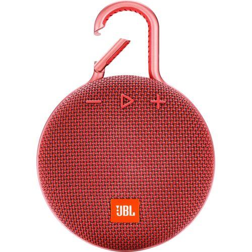 JBL CLIP 3 Portable-Lautsprecher (Bluetooth, 3 W), rot