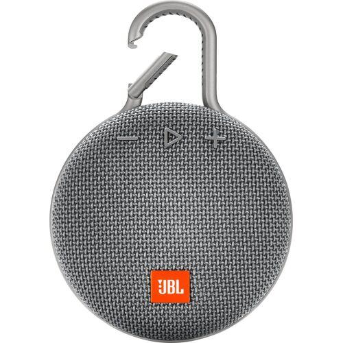 JBL CLIP 3 Portable-Lautsprecher (Bluetooth, 3 W), grau