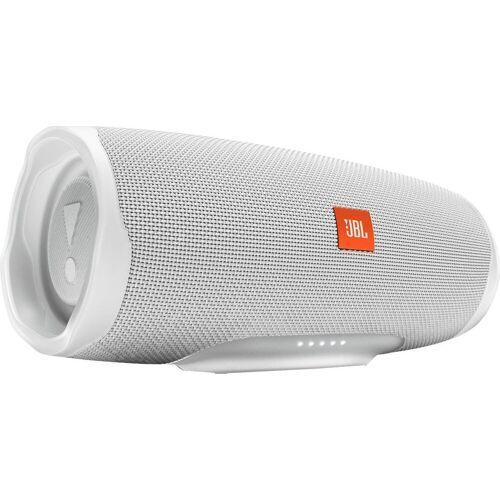 JBL Charge 4 Bluetooth-Lautsprecher (Bluetooth, A2DP Bluetooth, AVRCP Bluetooth, 30 W), weiß