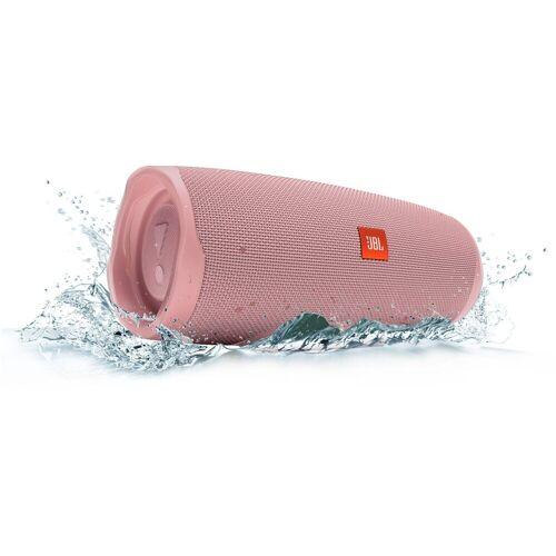 JBL Charge 4 Bluetooth-Lautsprecher (Bluetooth, A2DP Bluetooth, AVRCP Bluetooth, 30 W), rosa