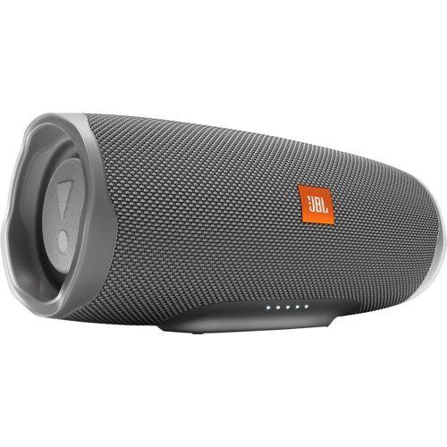 JBL Charge 4 Bluetooth-Lautsprecher (Bluetooth, A2DP Bluetooth, AVRCP Bluetooth, 30 W), grau