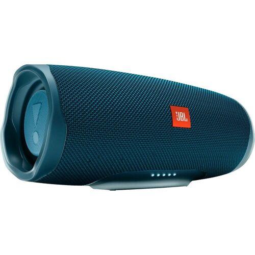 JBL Charge 4 Bluetooth-Lautsprecher (Bluetooth, A2DP Bluetooth, AVRCP Bluetooth, 30 W), blau