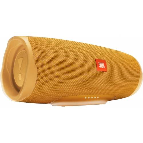 JBL Charge 4 Bluetooth-Lautsprecher (Bluetooth, A2DP Bluetooth, AVRCP Bluetooth, 30 W), gelb