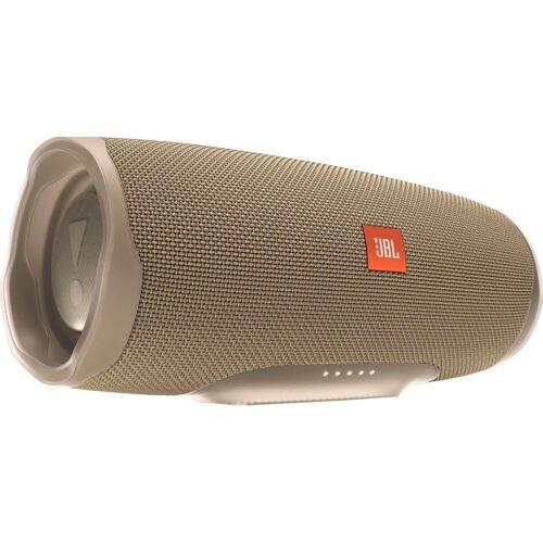 JBL Charge 4 Bluetooth-Lautsprecher (Bluetooth, A2DP Bluetooth, AVRCP Bluetooth, 30 W), beige