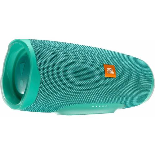 JBL Charge 4 Bluetooth-Lautsprecher (Bluetooth, A2DP Bluetooth, AVRCP Bluetooth, 30 W), türkis
