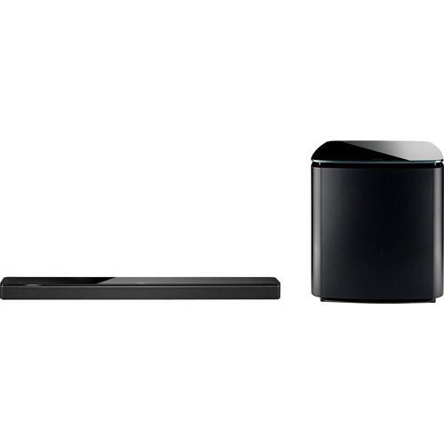 Bose Soundbar 700 + Bass Module 700 Soundbar (Bluetooth, WLAN (WiFi), schwarz