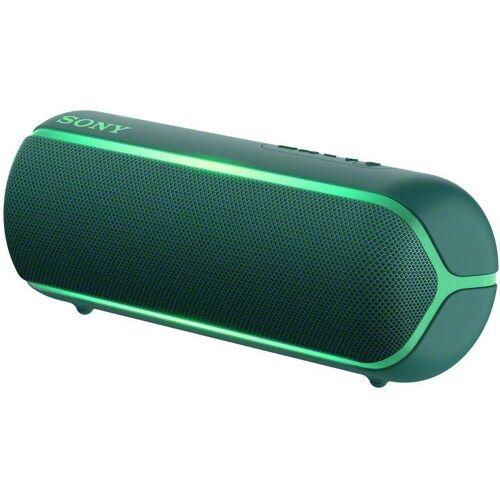 Sony SRS-XB22 Bluetooth-Lautsprecher (NFC, Bluetooth), grün
