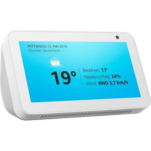 Echo Show 5 Bluetooth-Lautsprecher (WLAN (WiFi), Bluetooth), weiß