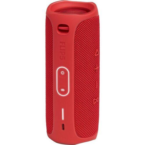 JBL FLIP 5 2.0 Portable-Lautsprecher (Bluetooth, 20 W), rot