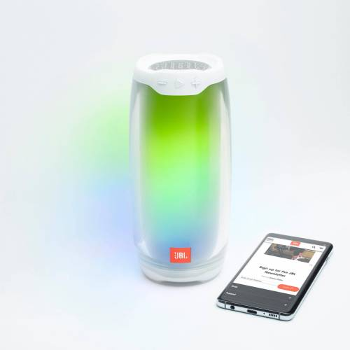 JBL PULSE 4 Bluetooth-Lautsprecher (Bluetooth, 20 W), weiß