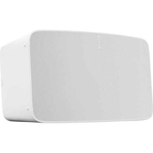 Sonos Five Smart Speaker (LAN (Ethernet), WLAN, WLAN Speaker für Musikstreaming), weiß