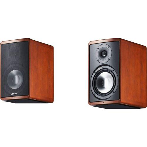 Canton Ergo 620 ein Paar Lautsprecher (130 W), Kirsche Funier
