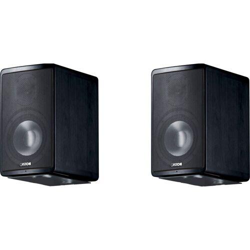 Canton Ergo 620 ein Paar Lautsprecher (130 W), Esche Funier schwarz
