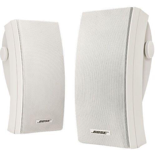 Bose 251® environmental speakers Lautsprecher (2 Außenlautsprecher für die Wandmontage), weiß