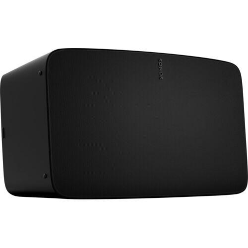 Sonos Five Smart Speaker (LAN (Ethernet), WLAN, WLAN Speaker für Musikstreaming), schwarz