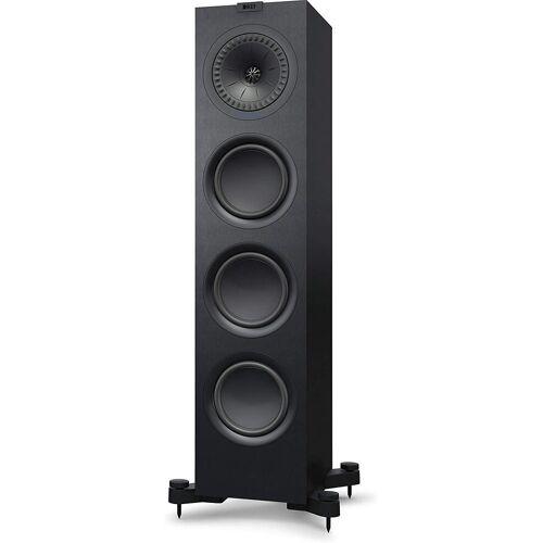 KEF Q750 Stand-Lautsprecher (Uni-Q, HiFi, Heimkino, Stück), Schwarz