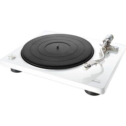 Denon »DP-400« Plattenspieler (Riemenantrieb), weiß