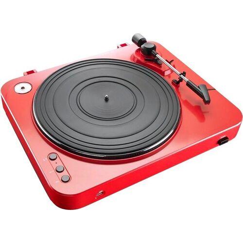 Lenco »L-85« Plattenspieler (Riemenantrieb), rot