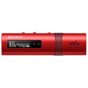 Sony MP3-Player »Walkman NWZ-B183FB mit FM Tuner 4GB«, Rot