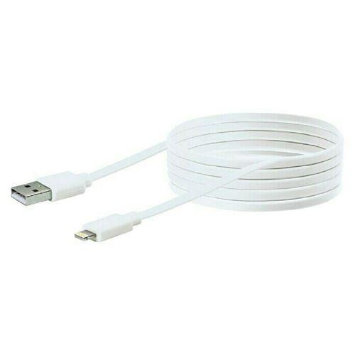 Schwaiger »3M iPhone Datenkabel USB Sync & Ladekabel Weiß kompatibel mit iPad, iPhone X, Xr, iPhone 11 Pro, iPhone 12 Pro Max« Smartphone-Kabel