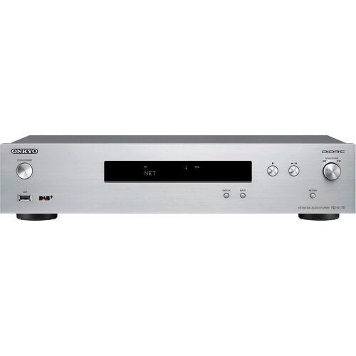 Onkyo »NS-6170« Netzwerkplayer (Digitalradio (DAB), FM-Tuner mit RDS), silberfarben