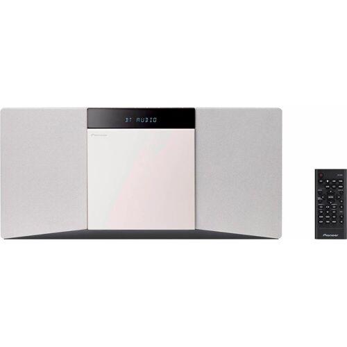 Pioneer »X-SMC02« Stereoanlage (UKW mit RDS, 20 W, RDS), weiß
