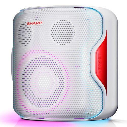 Sharp PS-919 Party Bluetooth-Lautsprecher Bluetooth-Lautsprecher, Weiß
