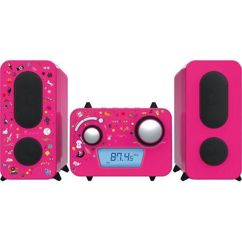 BigBen »Stereo Music Center MCD11 für Kinder, pink« Stereoanlage, pink