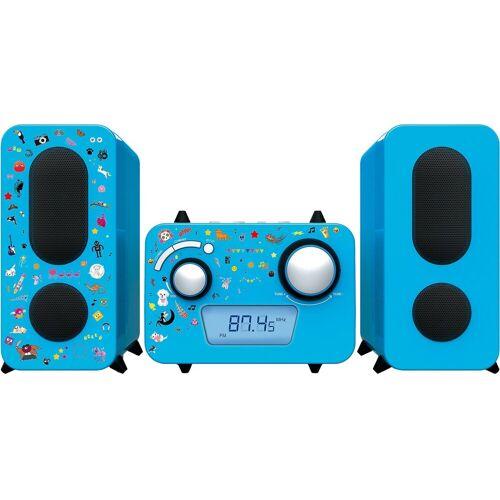 BigBen »Stereo Music Center MCD11 für Kinder, pink« Stereoanlage, blau