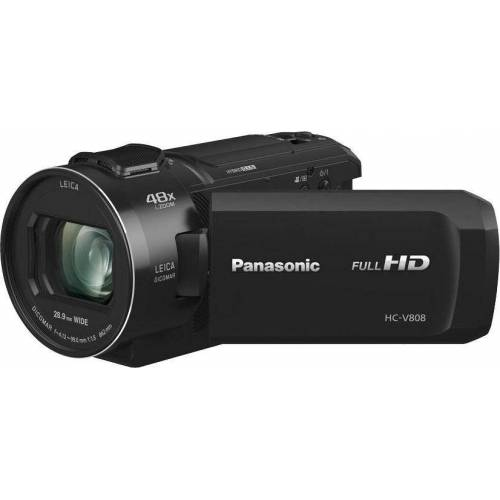 Panasonic Lumix Panasonic »HC-V808EG-K« Camcorder (Full HD, WLAN (Wi-Fi), 24x opt. Zoom)