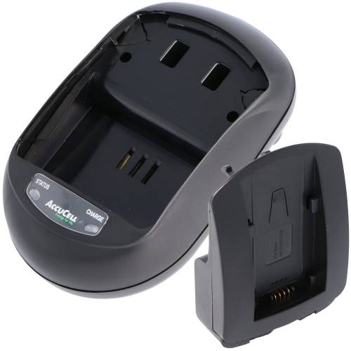 AccuCell »Schnell-Ladegerät passend für Sony NP-FH3« Kamera-Akku