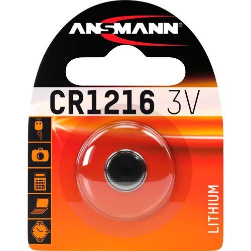 Ansmann »Lithium Knopfzelle CR1216« Batterie