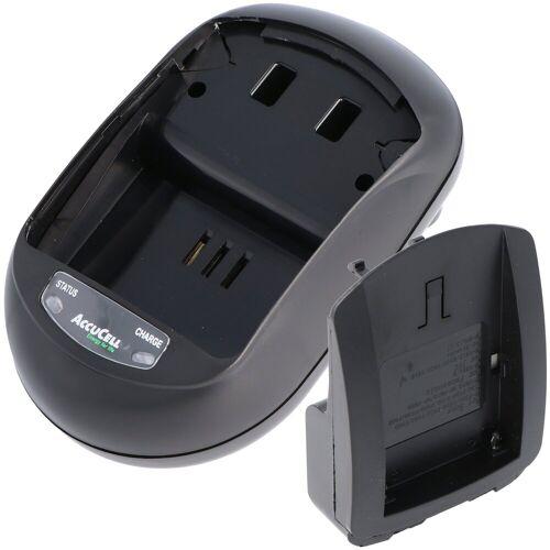 AccuCell »Schnell-Ladegerät passend für Sony NP-FM5« Kamera-Akku