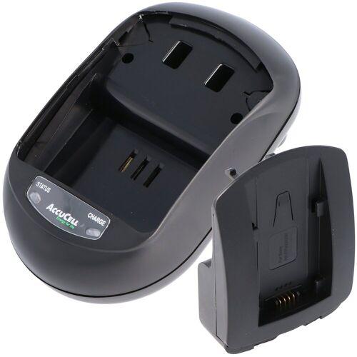 AccuCell »Schnell-Ladegerät passend für Sony NP-FV9« Kamera-Akku