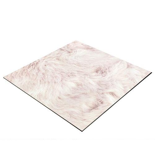 BRESSER Fotohintergrund »für Legebilder 40x40cm Plüsch rosa«, Flatlay Hintergrund