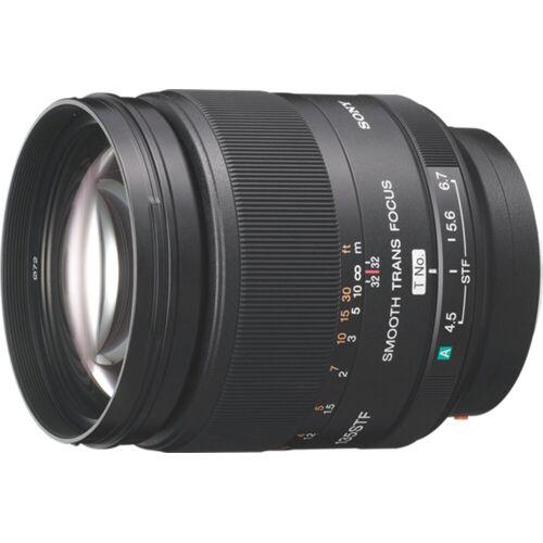 Sony Objektiv »135F28 A-Objektiv für Digitalkameras«, Schwarz