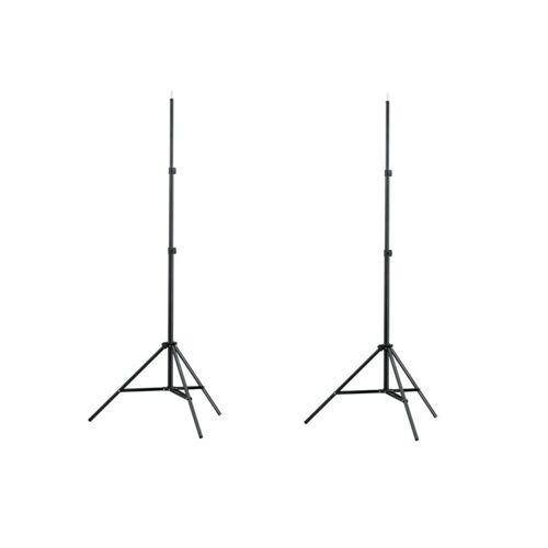 vidaXL »Lampenstativ 1&2 Stk. Höhe 78-210 cm« Lampenstativ