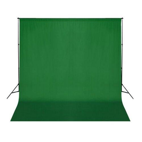 vidaXL Fotohintergrund »Fotohintergrund-System«, Grün